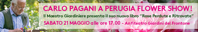 Carlo Pagani a Perugia Flower Show!